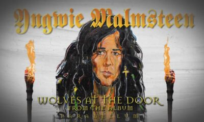 Coperta Single Yngwie Malmsteen Wolves at the Door