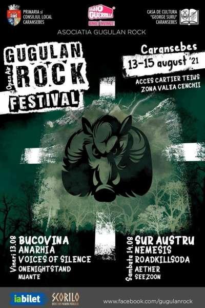 Poster eveniment Gugulan Rock Open Air Festival 2021