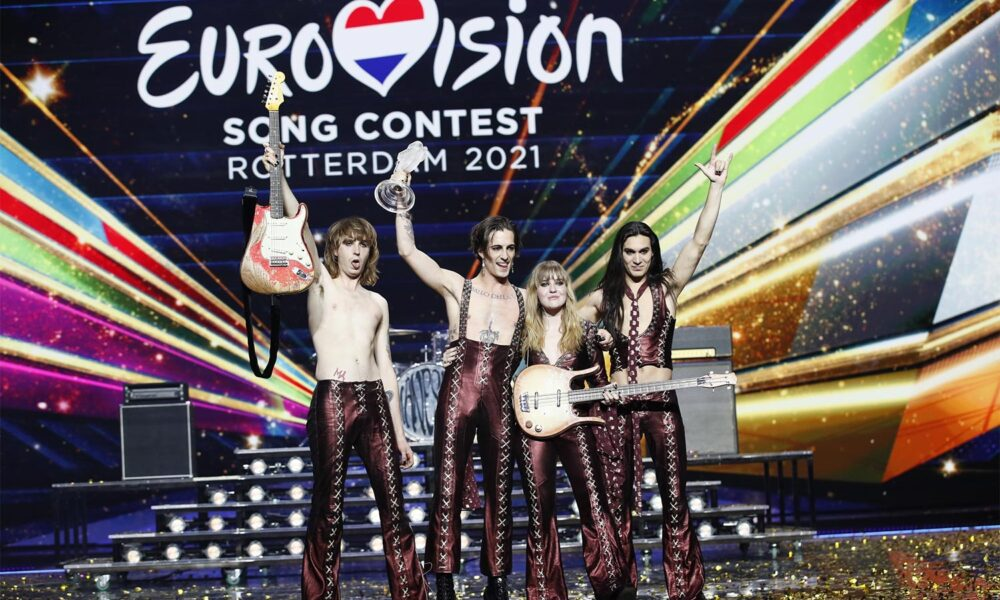 Trupa Maneskin din Italia a câștigat finala Eurovision 2021