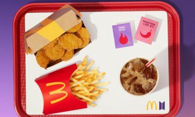 Meniu BTS McDonald's 2021