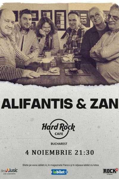 Poster eveniment Alifantis & ZAN