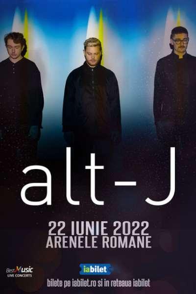 Poster eveniment alt-J