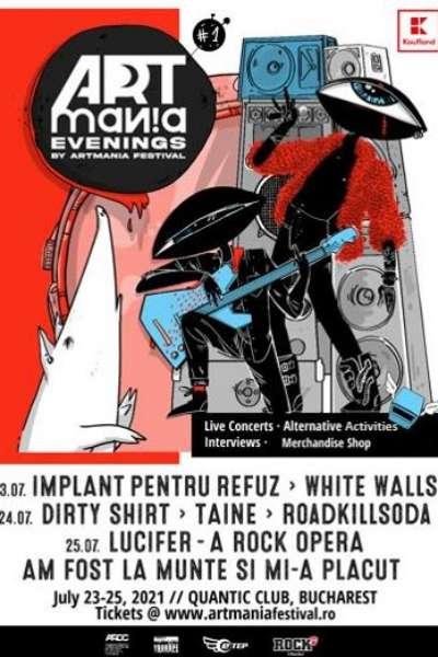 Poster eveniment ARTmania Evenings 2021