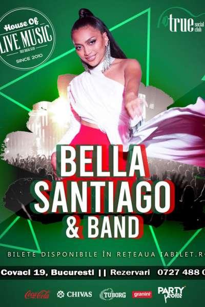 Poster eveniment Bella Santiago & Band