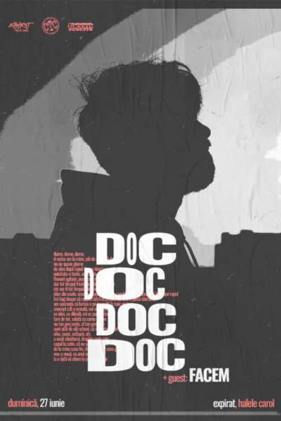 Poster eveniment DOC + Guest