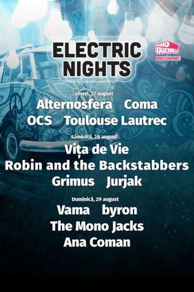 Poster eveniment Electric Nights - Summer Camp Brezoi