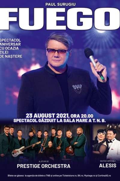 Poster eveniment Fuego - concert aniversar