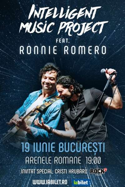 Poster eveniment Intelligent Music Project feat. Ronnie Romero