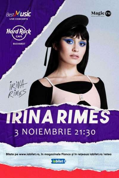 Poster eveniment Irina Rimes