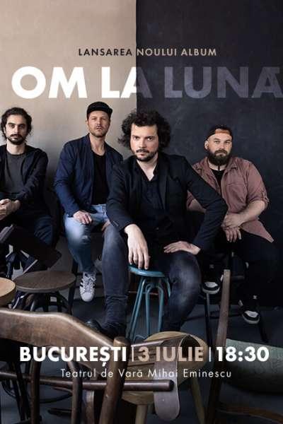 Poster eveniment om la lună - lansare album
