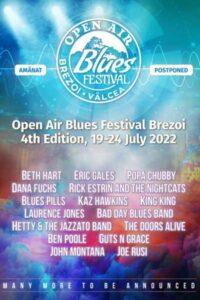 Open Air Blues Festival Brezoi 2022