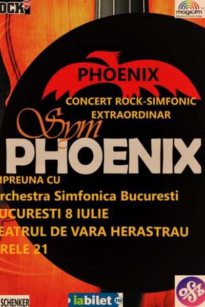 Poster eveniment Phoenix - concert SYMPHOENIX