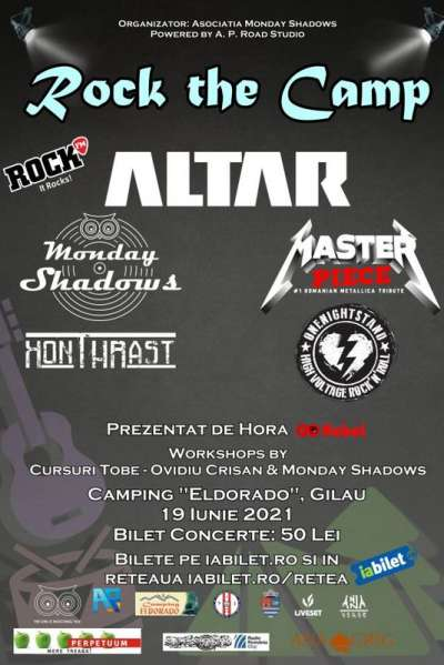 Poster eveniment Rock the Camp 2021