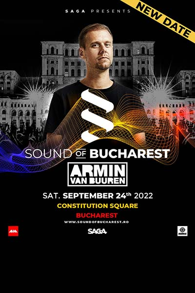 Poster eveniment Armin van Buuren