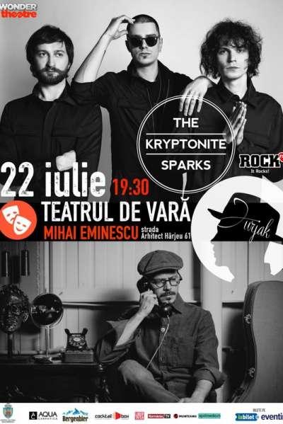 Poster eveniment The Kryptonite Sparks & Jurjak