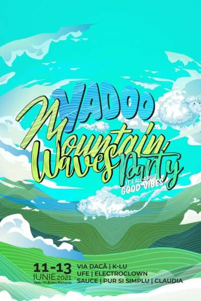 Poster eveniment Vadoo Mountain Waves Party