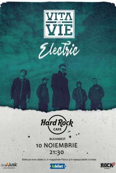 Poster eveniment Vița de Vie - electric