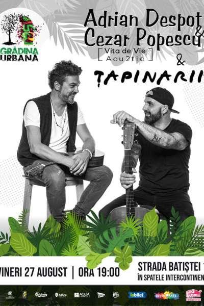 Poster eveniment Vița de Vie Acu2tic & Țapinarii