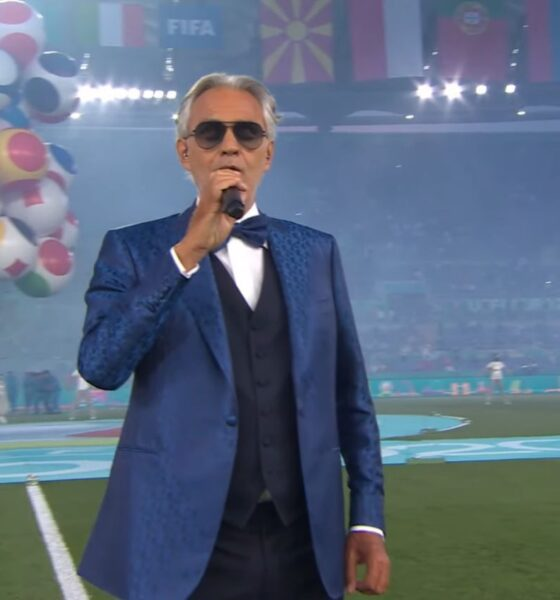 Andrea Bocelli canta in deschiderea EURO 2020