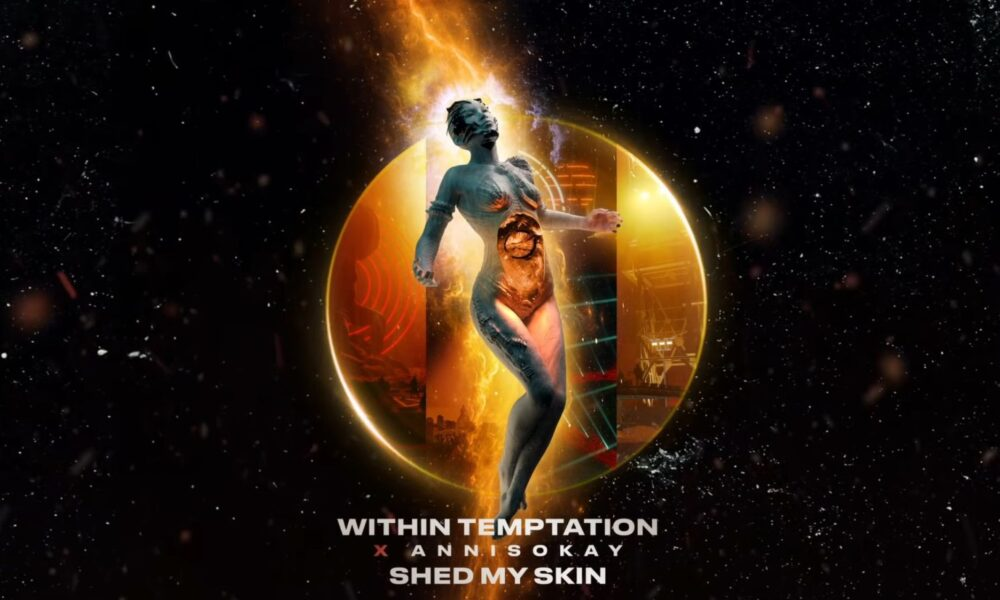 Coperta single Within Temptation Annisokay Shed My Skin