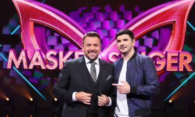 Horia Brenciu și Alex Bogdan, detectivi în sezonul 2 Masked Singer România