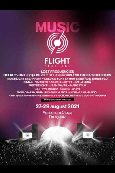 Poster eveniment Music at Flight Festival 2021