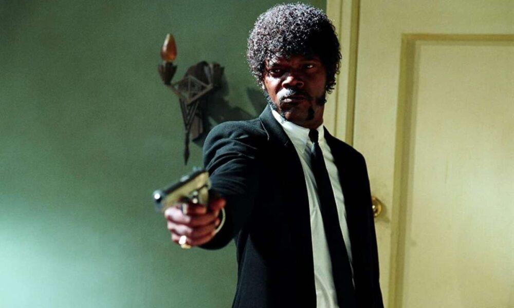 """Samuel L. Jackson în """"Pulp Fiction"""""""