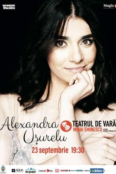 Poster eveniment Alexandra Ușurelu