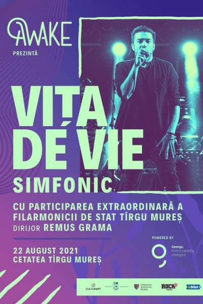 Poster eveniment AWAKE presents Vița de Vie Simfonic