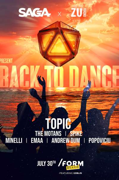 Poster eveniment Back To Dance