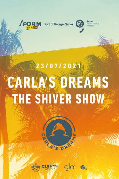 Poster eveniment Carla\'s Dreams