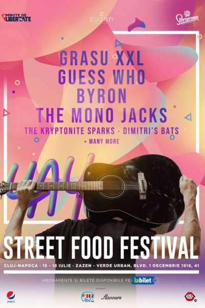 Poster eveniment Cluj: Street FOOD Festival