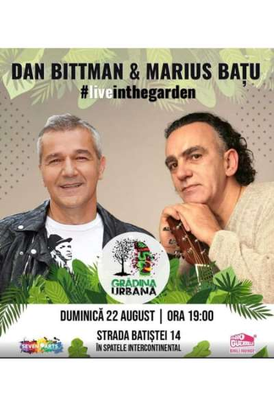 Poster eveniment Dan Bittman & Marius Bațu