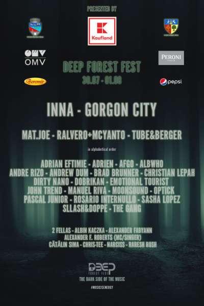 Poster eveniment Deep Forest Fest 2021