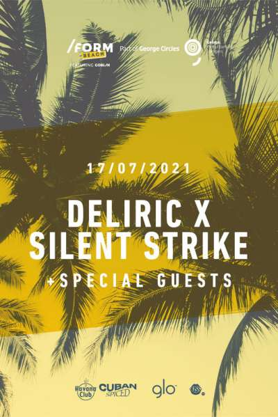 Poster eveniment Deliric x Silent Strike