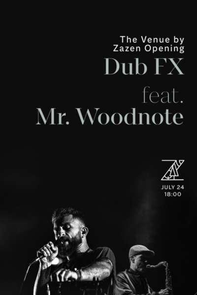 Poster eveniment Dub FX & Mr. Woodnote