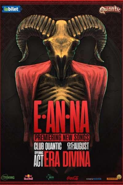 Poster eveniment E-AN-NA & era Divina