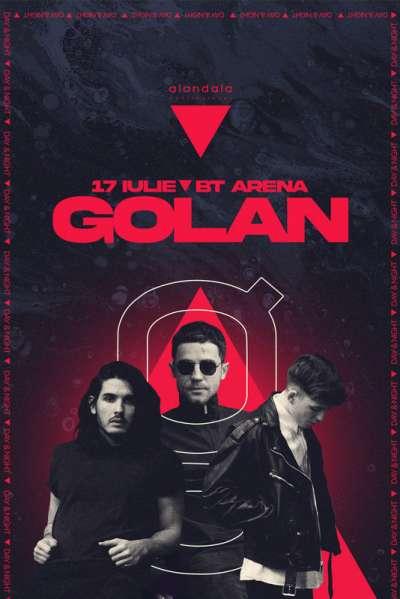 Poster eveniment GOLAN
