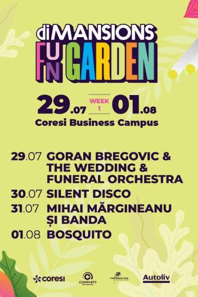 Poster eveniment Goran Bregovic, Mihai Mărgineanu, Bosquito