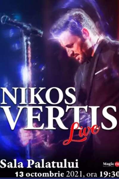 Poster eveniment Nikos Vertis