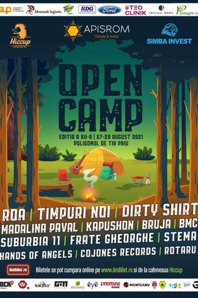 Poster eveniment Open Camp Vaslui 2021