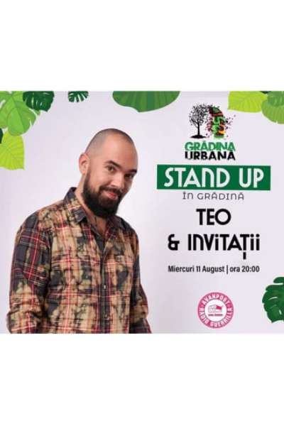 Poster eveniment Teo & Invitații