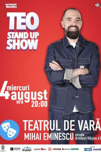 Poster eveniment Teo - Stand up Show