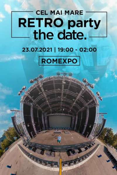 Poster eveniment The Date Retro Party