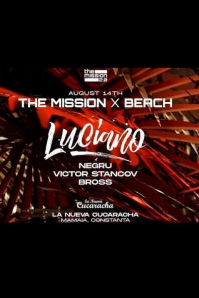 Poster eveniment The Mission X Beach