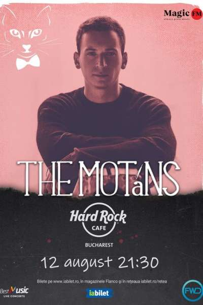 Poster eveniment The Motans
