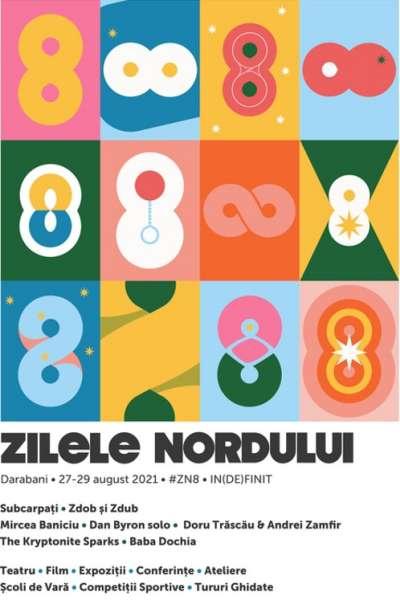 Poster eveniment Zilele Nordului 2021