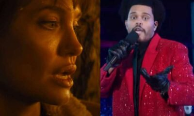"""Angelina Jolie și The Weeknd - """"Those Who Wish Me Dead"""" / Super Bowl 2021"""