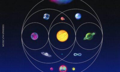 Coperta album Coldplay Music of the Spheres
