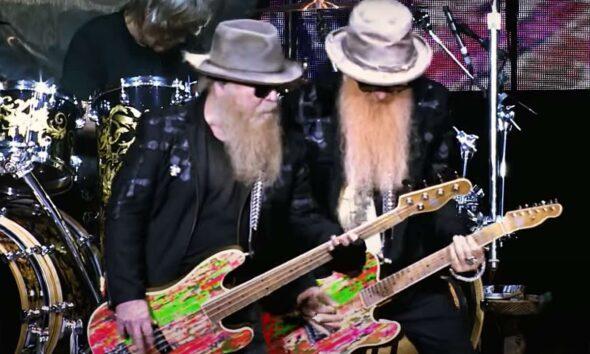 Dusty Hill și Billy Gibbons (ZZ Top)